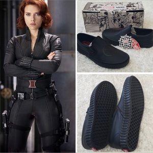 VANS x MARVEL Black Widow Sneakers NIB 9